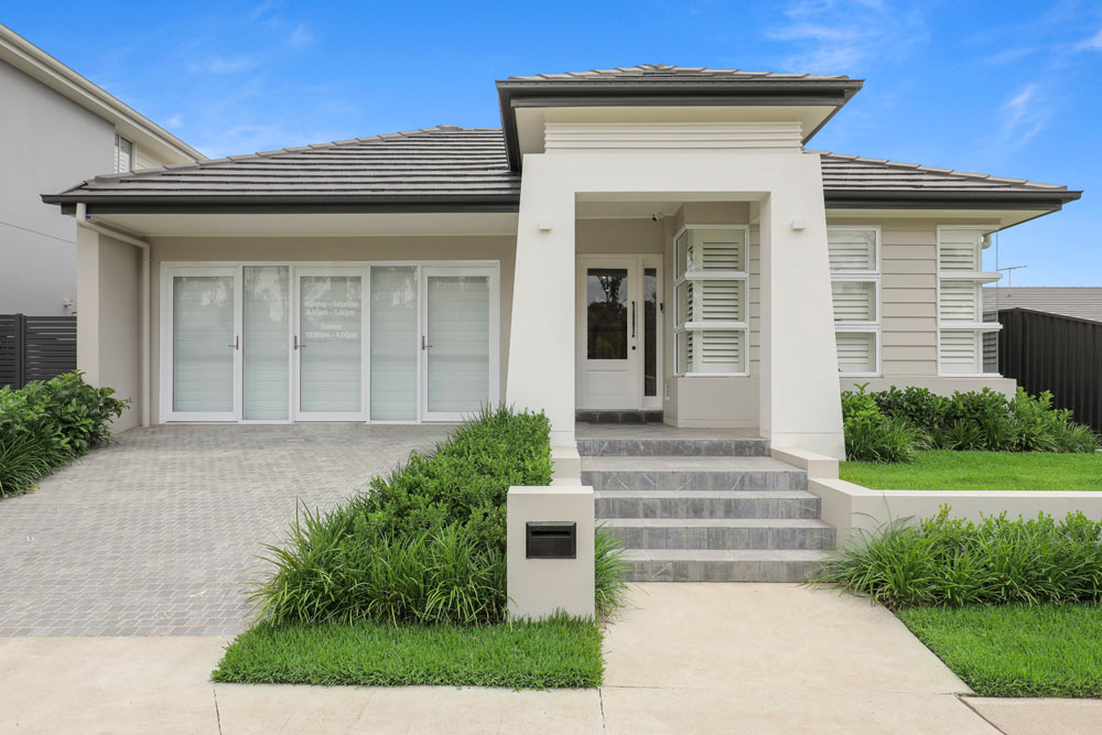 Austral Display Home with Hamptons Style Interiors Building Development