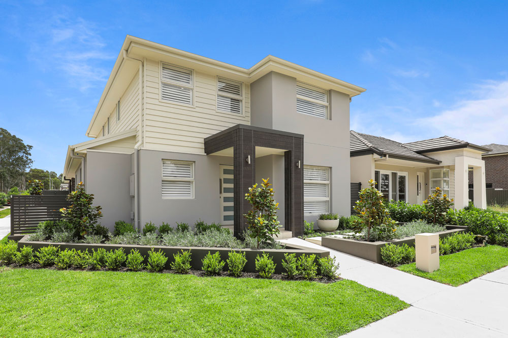 Austral Display Home in Contemporary Style Building Development