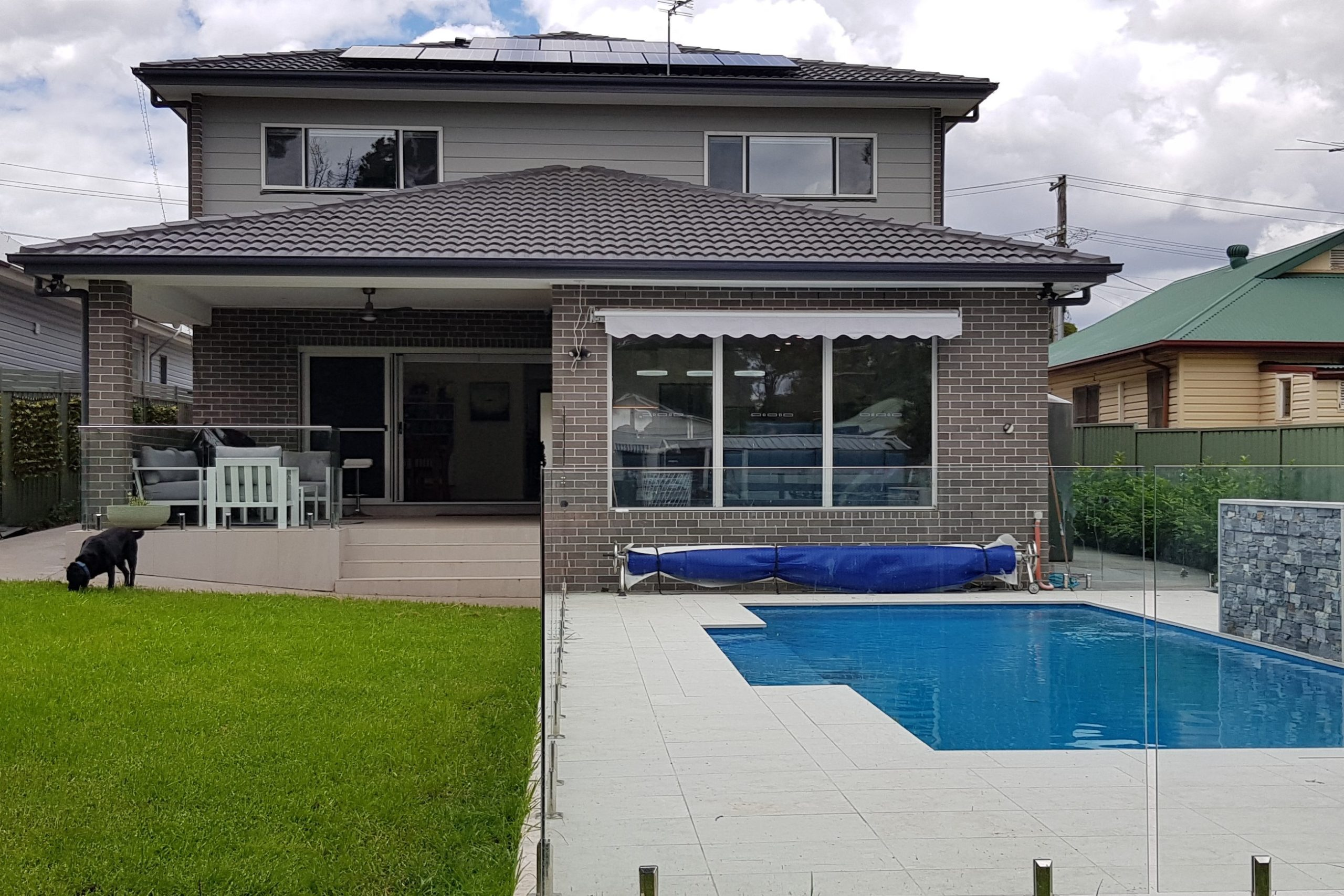 New Home Riverstone Pool